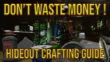 Hideout Profit Guide – Escape from Tarkov – Money Making Guide