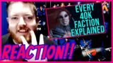 Every single Warhammer 40k Faction Explained | Part 2 Reaction!! (4 of 4)