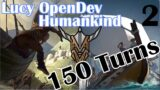 Naval and Exploration   Humankind – 150 Turns   Lucy OpenDev Gameplay   2