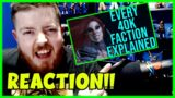 Every single Warhammer 40k Faction Explained | Part 2 Reaction!! (2 of 4)