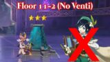 3* Floor 11-2 Without Venti – Genshin Impact Abyss Moment of Syzygy