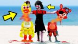 ANIMATRONICS AGATHA NIGTHMARE MATOU A BABY CHICA? | GTA V Five Nights at Freddy's