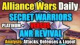 [AWD] Secret Warriors VS ANR Revival   Platinum   Alliance Wars   Marvel Strike Force   MSF