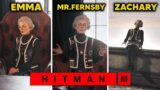 Accuse Mr Fernsby / Zachary / Emma – All Choices in HITMAN 3
