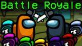 Among Us BATTLE ROYALE com 10 IMPOSTORES