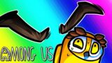 Among Us Funny Moments – Killer Eyebrows?! (Invisibility Mod)