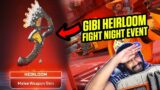 Apex legends Fight night event   buying Gibraltar heirloom and event skins