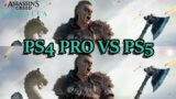 Assassin's Creed Valhalla PS4 Pro vs PS5 Gameplay