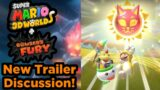BOWSER'S FURY LOOKS AMAZING! Super Mario 3D World + Bowser's Fury new Trailer Discussion