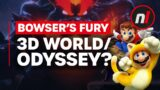 Bowser's Fury Looks Like Super Mario 3D World X Odyssey