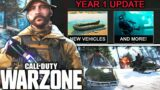 Call Of Duty WARZONE: The MASSIVE YEAR 1 UPDATE! (New Map, Mechanics, & More LEAKED)