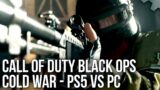 Call of Duty Black Ops Cold War – PS5 vs PC – Settings And Performance Analysis