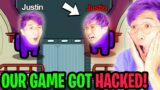 Can We Beat The NEW AMONG US MAP BACKWARDS!? (WE ACTUALLY GOT HACKED!!)