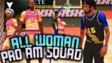 Contact Dunks Against All Woman Pro-Am Team! NBA 2K21 PS5 Pro-Am
