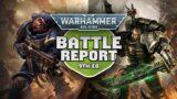 Crimson Fists vs Deathwatch Warhammer 40k Battle Report Ep 65