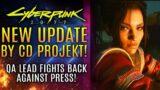 Cyberpunk 2077 – All New Update From CD Projekt RED! QA Lead Fights Back VS The Press!