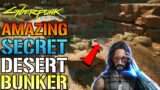 Cyberpunk 2077: Amazing SECRET Desert BUNKER! Filled With Skill Shards, A Sniper Rifle & Easter Egg