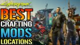 Cyberpunk 2077: How To Get The BEST Crafting Mods In The Game (Location & Guide)