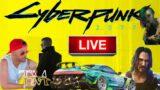 Cyberpunk 2077 LIVE GAME STREAM 4K Xbox Series X w/ REALITY TV STAR Tim Malcolm