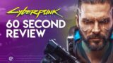 Cyberpunk 2077 PS5 Review | Don't believe the haters! #shorts