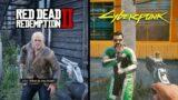 Cyberpunk 2077 VS Red Dead Redemption 2 | NPC Comparison