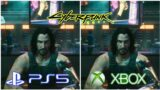 Cyberpunk – Johnny Silverhand – Graphics Comparison PS5 VS Xbox series X
