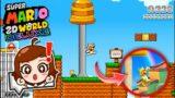 EL MEJOR FANGAME DE SUPER MARIO 3D WORLD EN 2D!! | Super Mario 2D World Deluxe