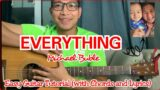 EVERYTHING by Michael Buble – Easy Guitar Tutorial (Chords & Lyrics)