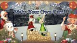 FFXIV: Make Your Own Christmas FF14 Greeting Cards!