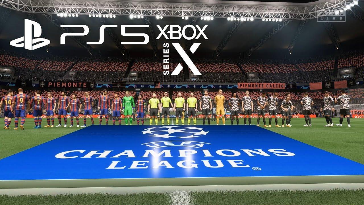FIFA 21 - PS5/Xbox Series Juventus vs Barcelona Champions ...