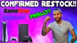 FINALLY CONFIRMED RESTOCK NEWS FOR PS5 & XBOX SERIES X