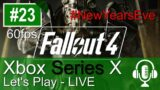 Fallout 4 Xbox Series X Gameplay (Let's Play #23) – New Years Eve LIVESTREAM