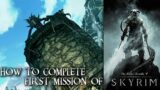 First mission of II The Elder Scrolls V: Skyrim II Gameplay II How to get out of Helgen ?
