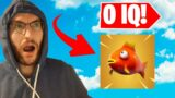 Fortnite, But The Player Has 0 IQ!