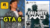 GTA 6 NOT RELEASING, COD 2021 LEAKS – PS5 God of War Comic & Uncharted (PS5 & Xbox)