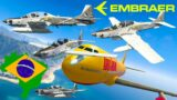 GTA V: Embraer A-29B Demonstrator Airplanes Best Extreme Longer Crash and Fail Compilation