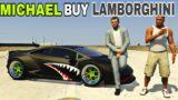 GTA V: Michael Buying A New Lamborghini | GTA V HINDI GAME PLAY PART #01