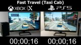 GTA V – PlayStation 5 vs Xbox Series X – Startup and Load Times Comparison