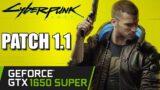 GTX 1650 SUPER   Cyberpunk 2077 1.1 Patch   1080p 900p 720p   PC Performance