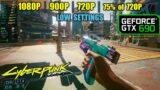 GTX 690 in Cyberpunk 2077… Ouch