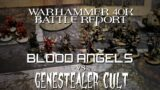 Genestealer Cult Vs. Blood Angels Warhammer 40k 9th Edition 1500 Point Battle Report