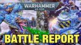Genestealer Cults Vs Chaos Daemon Soup Warhammer 40k Battle report 2000 points
