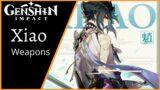Genshin Impact: Best Weapon for Xiao   Main DPS   Burst DPS   Anemo DPS l Xiao