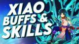 Genshin Impact Xiao BUFFS &  Xiao Skills + Best Weapons Artifacts Team & Patch 1.3 Buffs