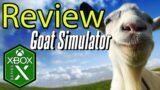 Goat Simulator Xbox Series X Gameplay Review [Xbox Game Pass]