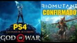 God Of War Ragnarok no PS4 / BioMutant Em Breve