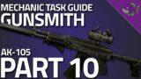 Gunsmith Part 10 – Mechanic Task Guide 0.12.9 – Escape From Tarkov