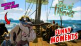 HOW DID HE NOT SEE THIS GUY RETUCK?! (Sea of Thieves Funny Moments)