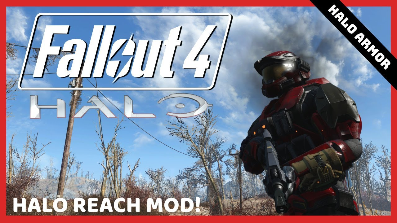 Halo Reach Mod | Fallout 4 Mods - Halo Armor & Halo