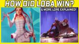 Here's Why Loba Beat Revenant, The Gridiron Plothole & More New Apex Legends Lore Explained!
